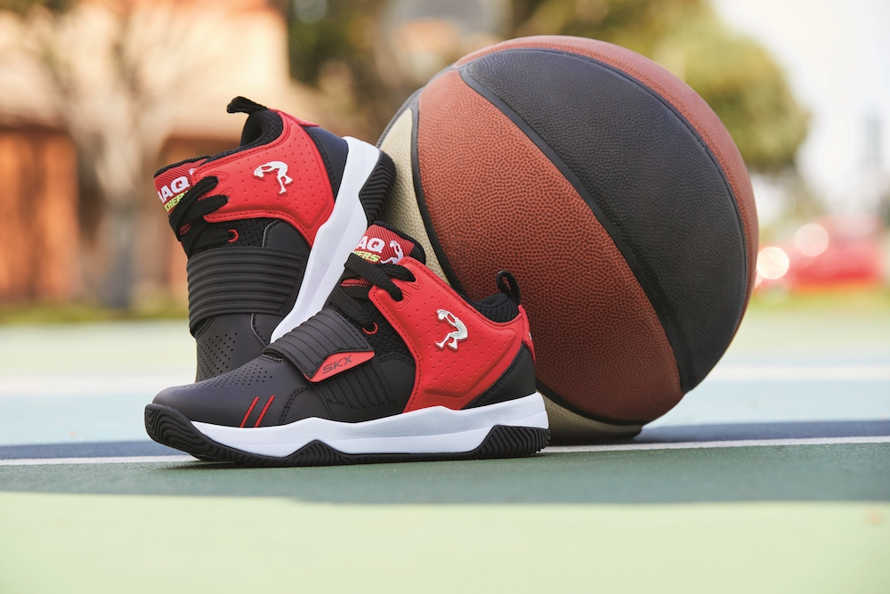 shaq and skechers combine for the brand's first basketball lineup for kids