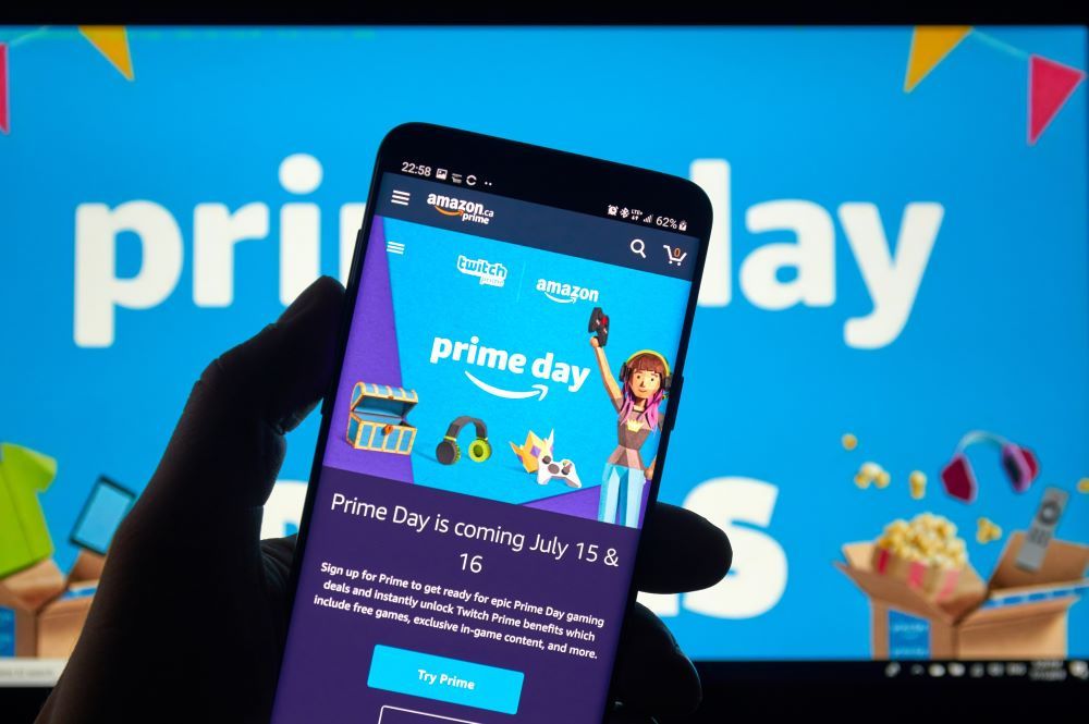 Amazon Prime Day July 15-16 175 million items sold record-breaking
