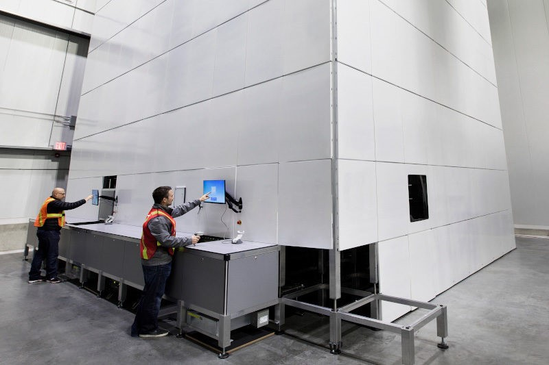Attabotics ant colony inspired vertical warehouse supply chain robotics fulfillment technology startup