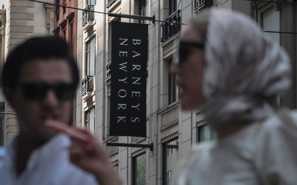 barney's new york bankruptcy charity