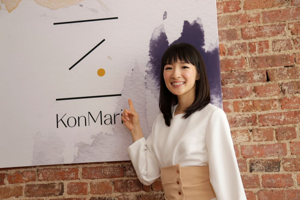 Marie Kondo says does it spark joy?