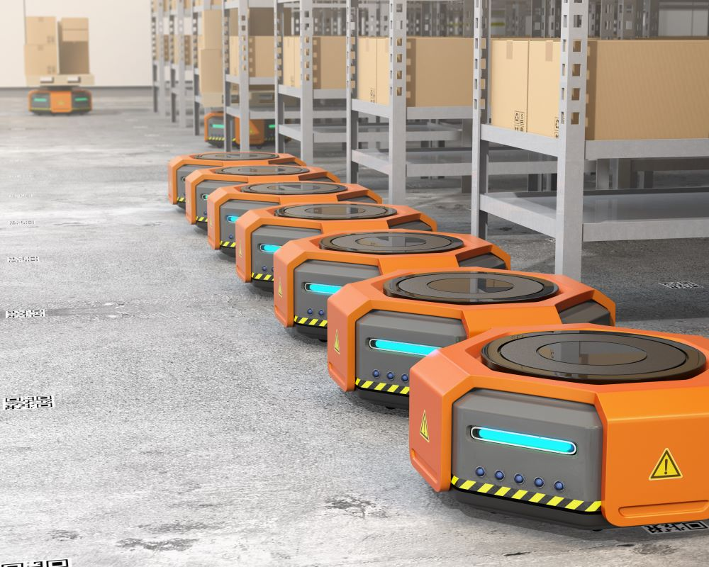 quiet logistics robotic warehouse fulfillment