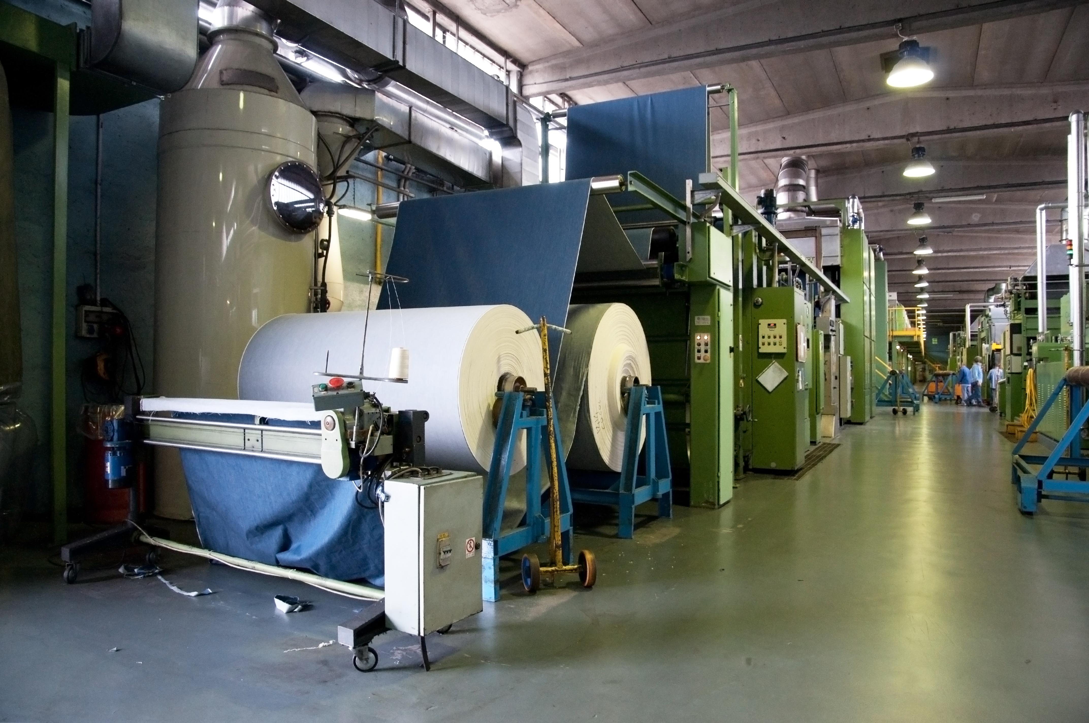 denim fabric mill