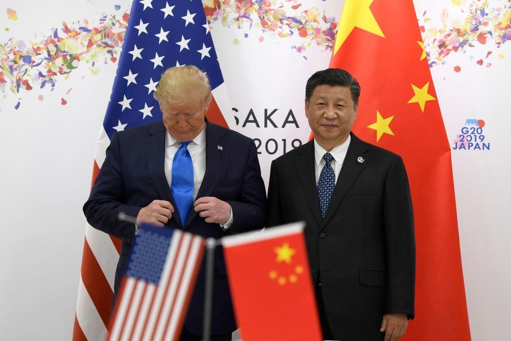 trump xi u.s. china trade talk negotiations