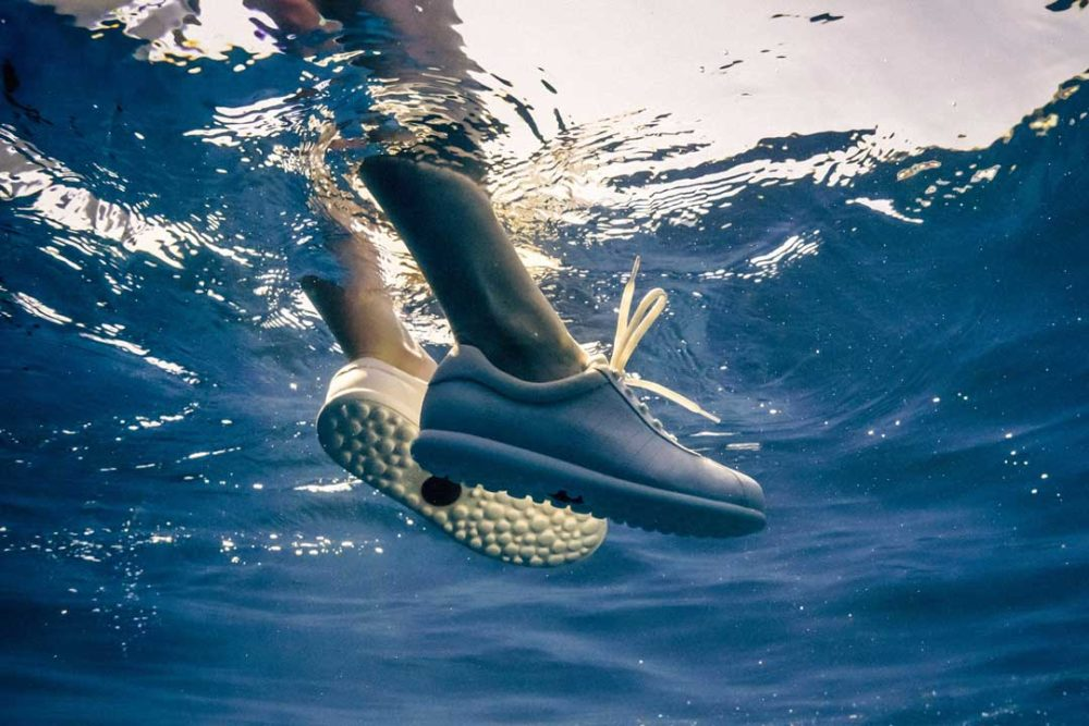 Camper and Ecoalf's latest collaboration is a sustainable sneaker made from ocean waste.