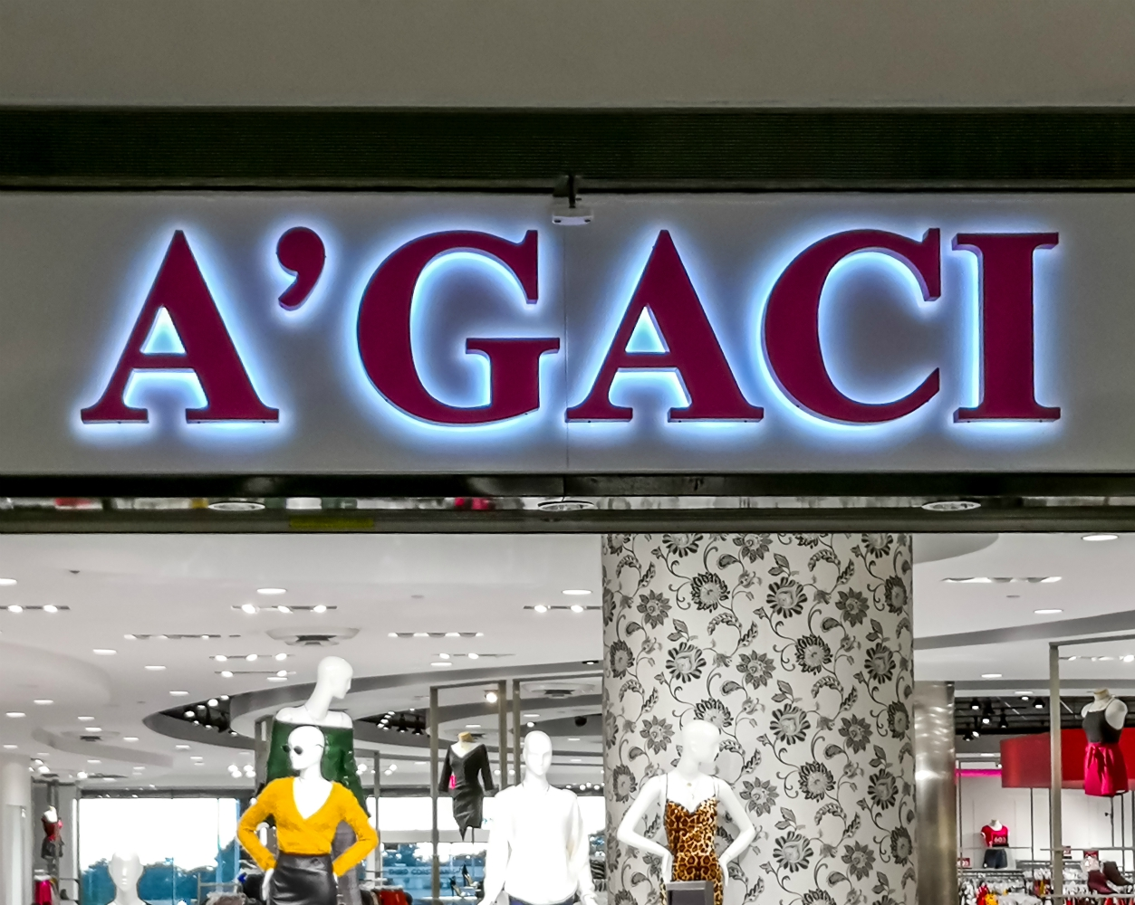 Fast-Fashion Chain A'gaci Liquidates and Shutters 54 Stores