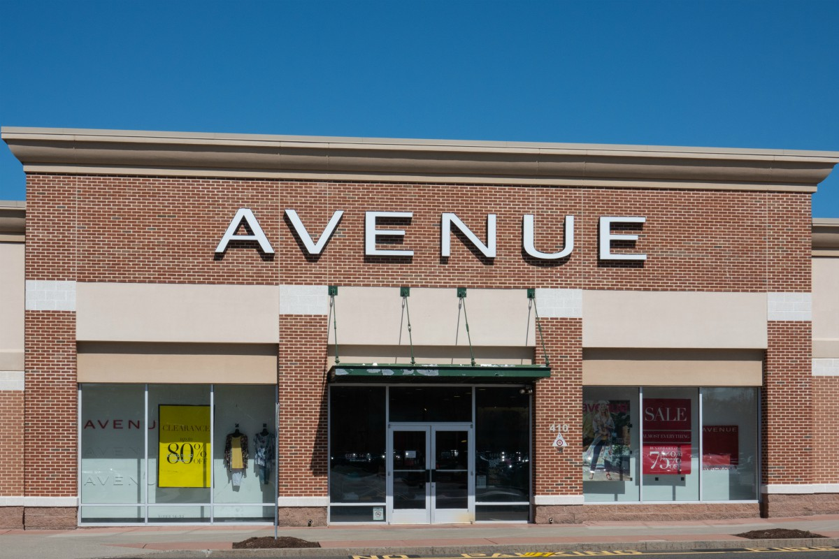 Plus-size chain Avenue is closing some stores
