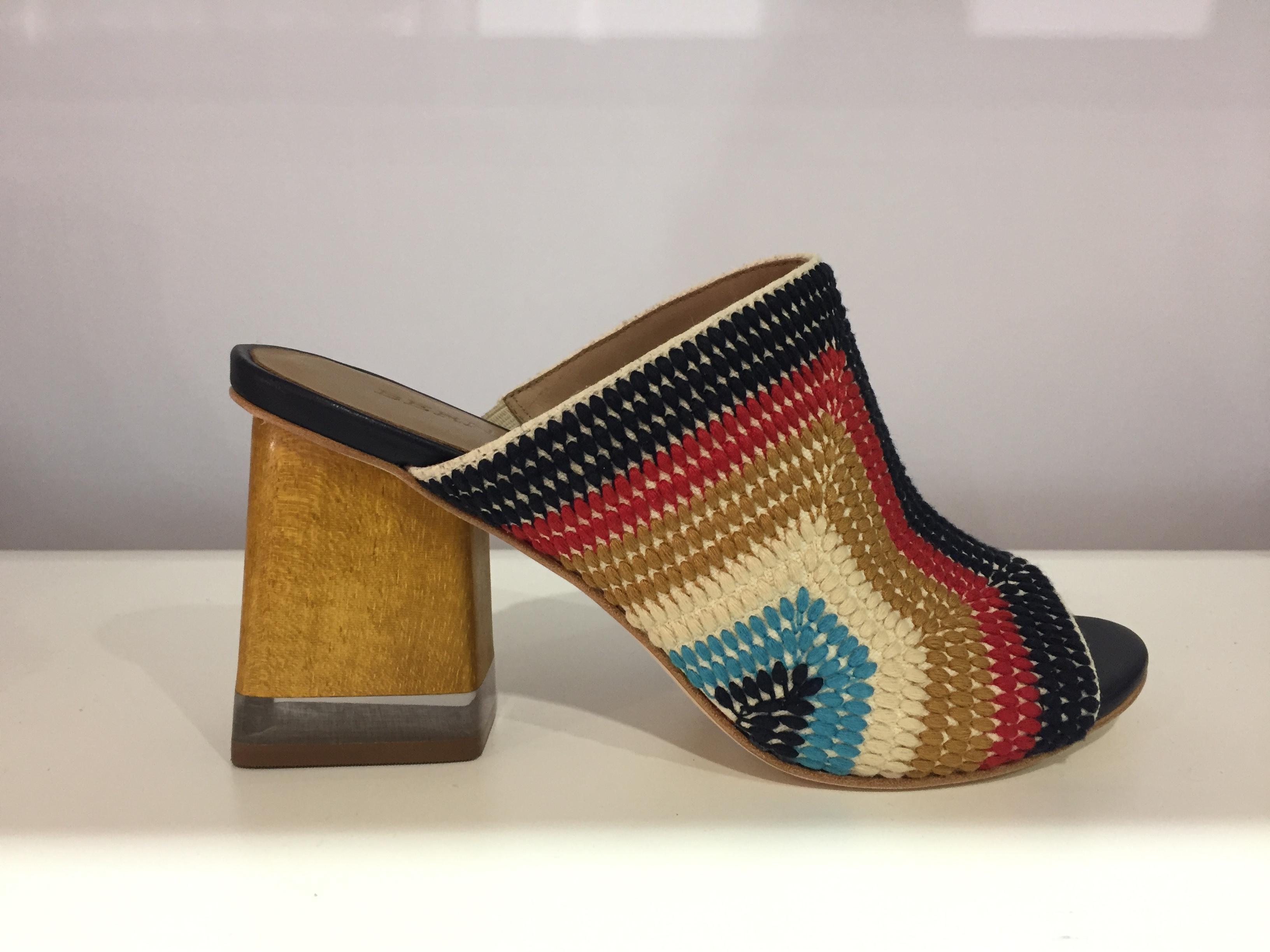 A jute stitched heel style from Bernardo.