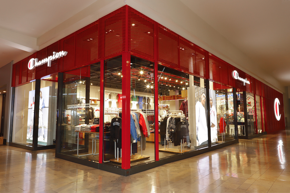 Champion store front