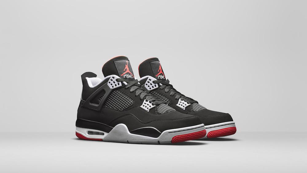 """Nike Air Jordan 4 """"Bred"""" 2019 – 13 Percent Market Share"""