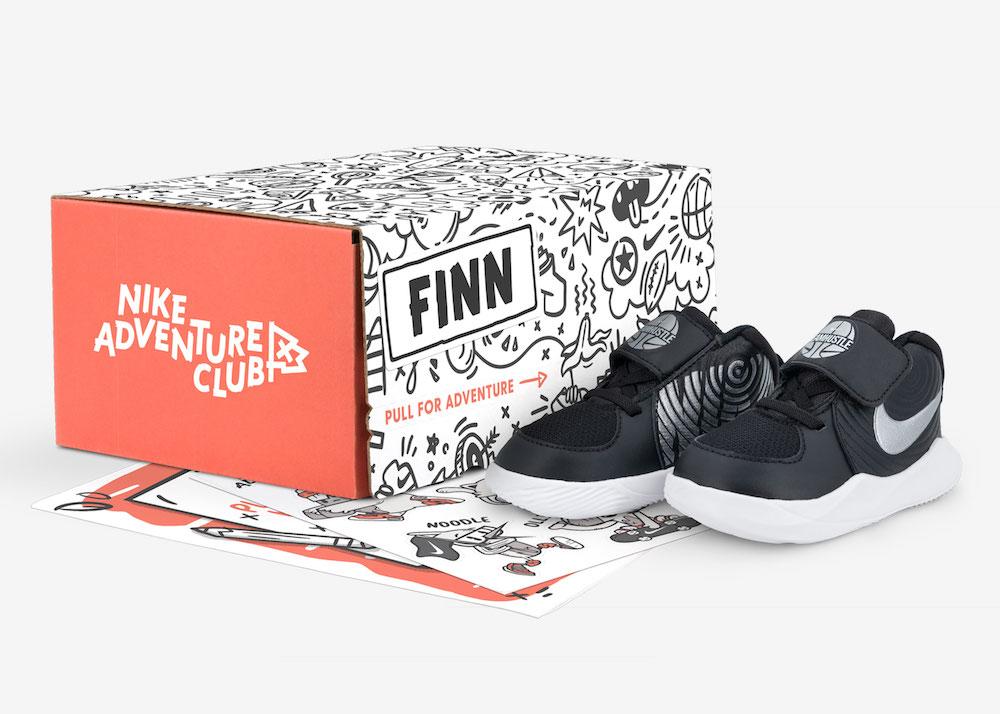Nike Adventure Box children's sneaker subscription