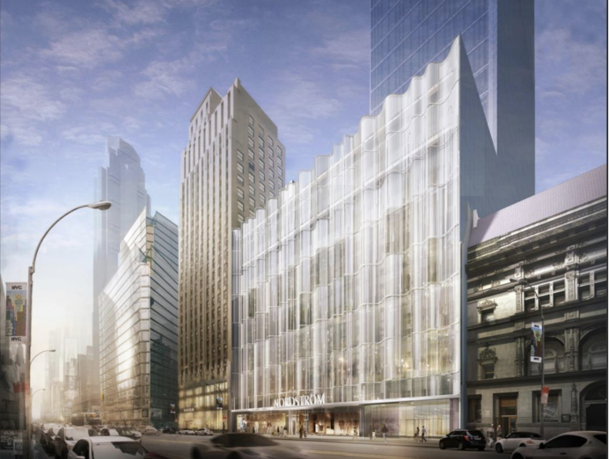 Nordstrom's NYC Market Strategy With New Flagship and Two Local Hubs