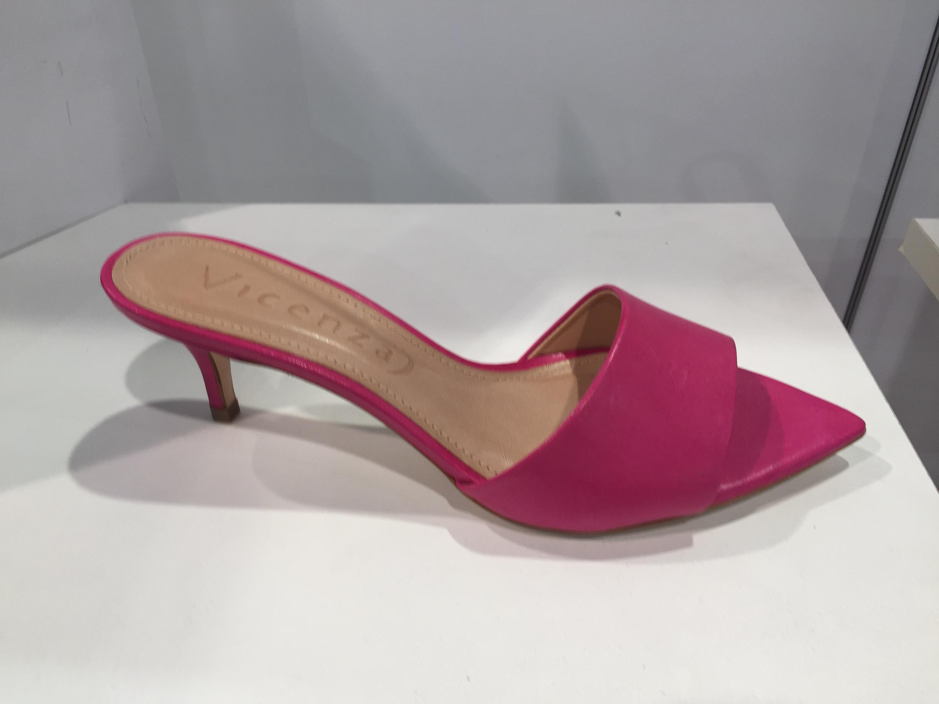 A pointed-toe slide sandal from Vicenza.