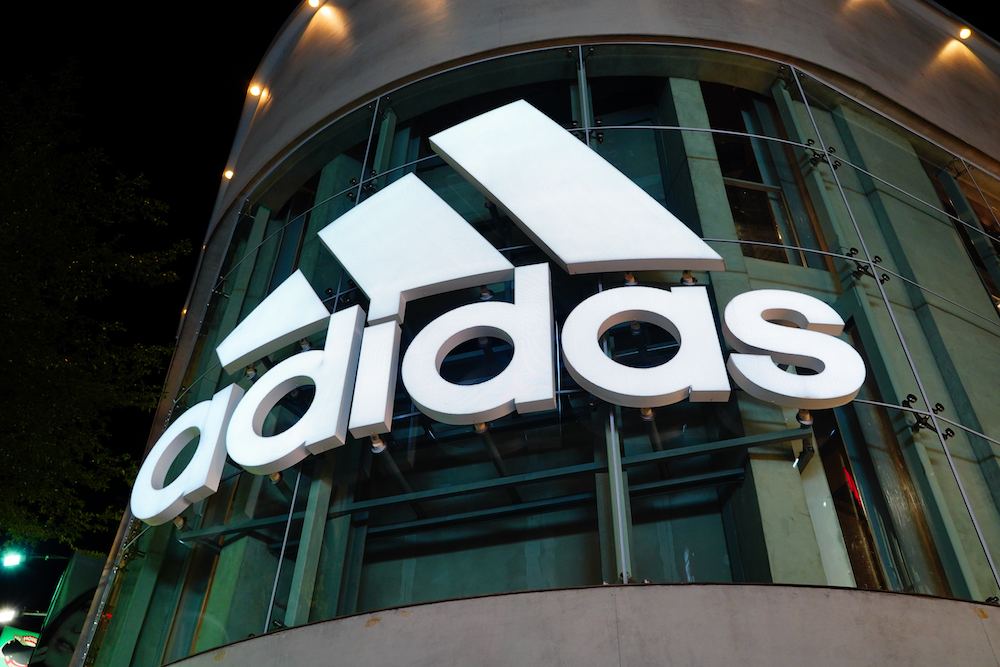 adidas was constrained by supply chain costs in the first half of FY20