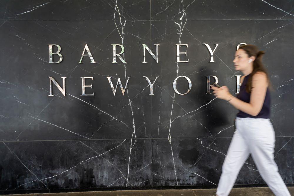 barneys new york working capital bankruptcy