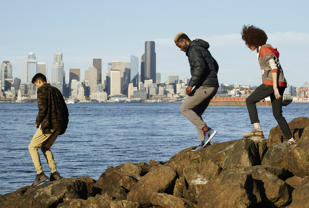 Columbia Sportswear's new SH/FT collection of urban footwear debuts this week.