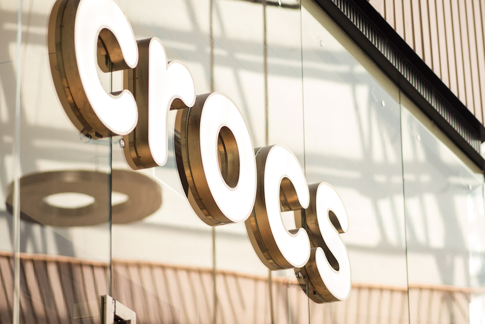 crocs delivered solid q2 results, raising its guidance for the full year