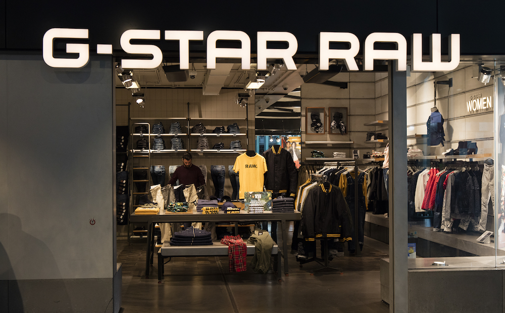 G-Star Raw storefront