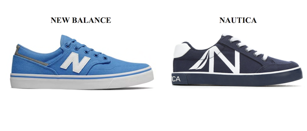 New Balance sues Nautica for copying its block-lettered N