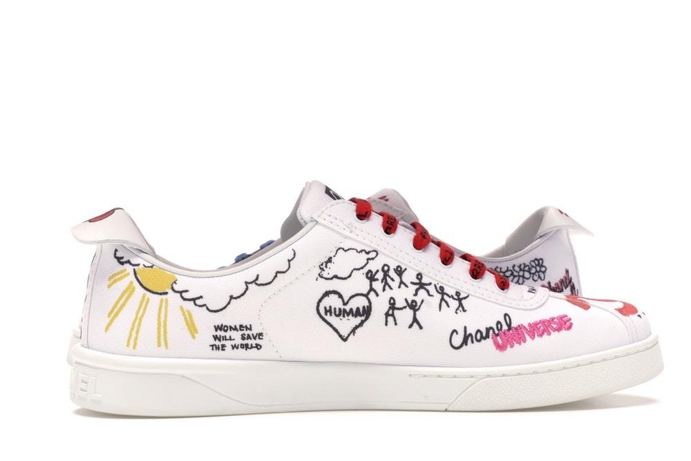 Pharrell Williams X Chanel Sneakers White Multi-color – $1,984