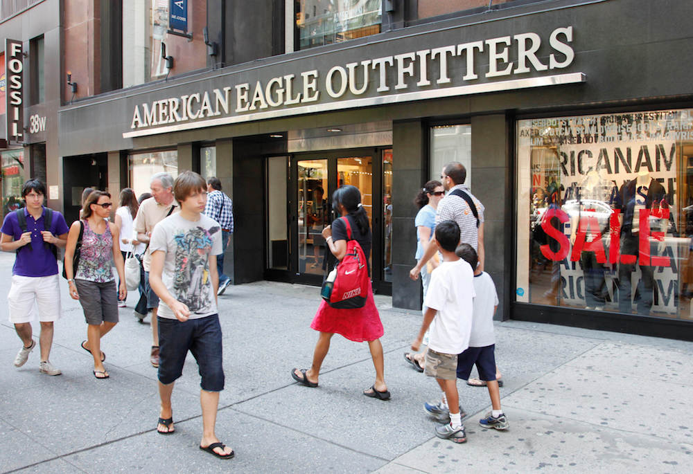 With a new set of sustainability goals, American Eagle aims accelerate its eco efforts and achieve carbon neutrality by 2040.