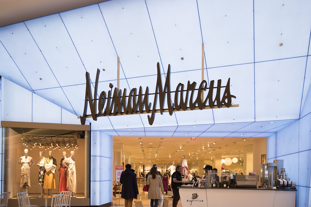 Neiman Marcus retail store front