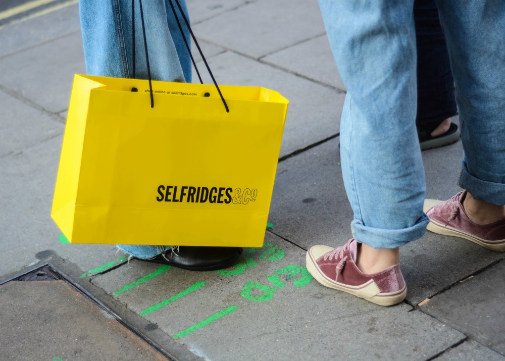 Selfridges has partnered with peer-to-peer selling app Depop on a sustainable pop-up experience.