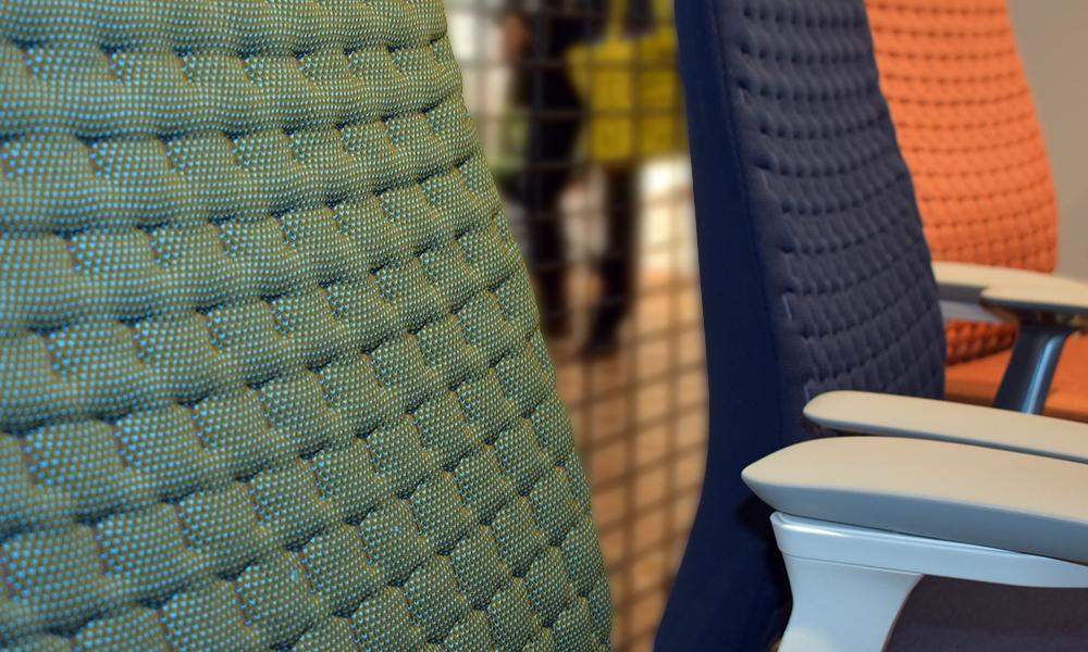 Shima Seiki Haworth 3D Knitted Chair