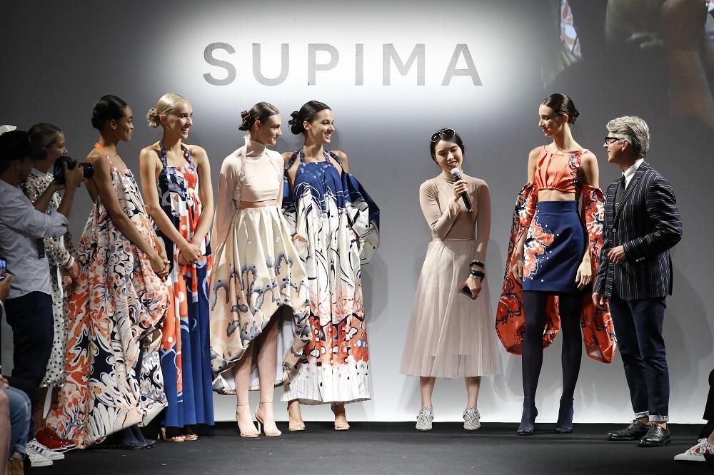 Supima Design Competition 2019 winner Gina (Zinan) Guo