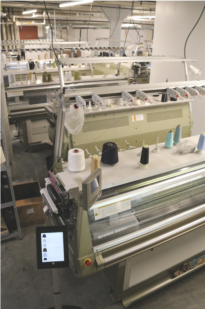Tailored Industry is bringing high-tech knitwear back to the U.S. with a Brooklyn factory producing as many as 2,000 units each month.
