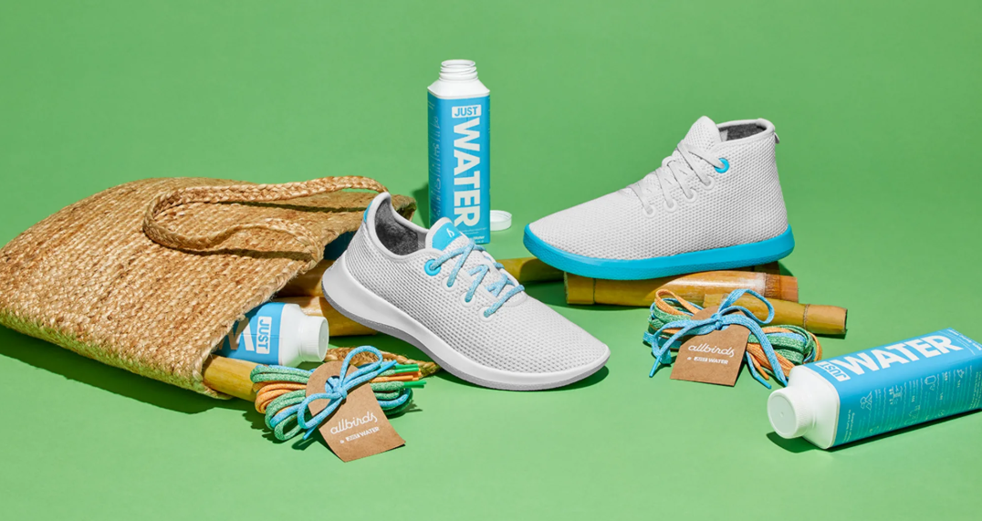 AllBirds and Just water have released two shoe styles benefiting the Amazon rainforest.