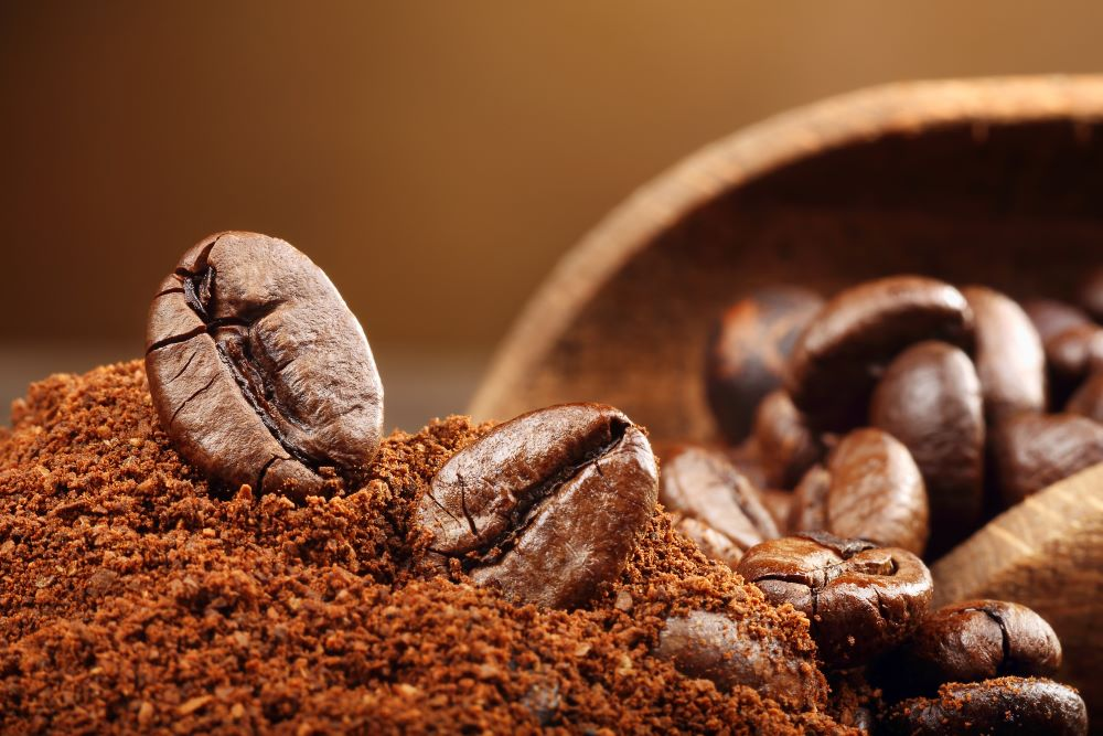 Researchers from Iowa State University have discovered a way to use leftover coffee grounds to add color to clothing.
