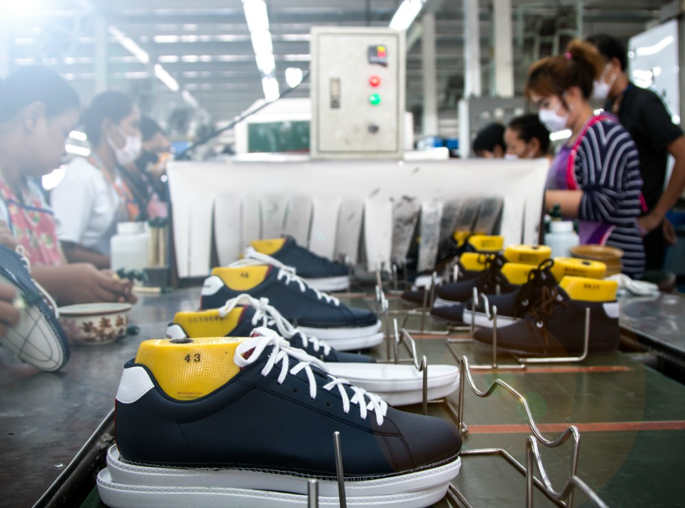 Cambodia could be poised to become a leader in footwear manufacturing, according to the FDRA.