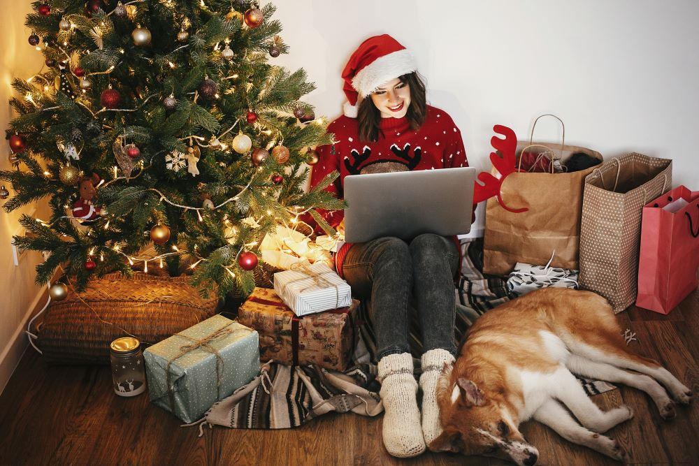 "Plus, $100,000+ earners are the least likely to do their holiday shopping in store, according to a poll by OpenX, which dubbed 2019 the ""year of the millennial shopper."""
