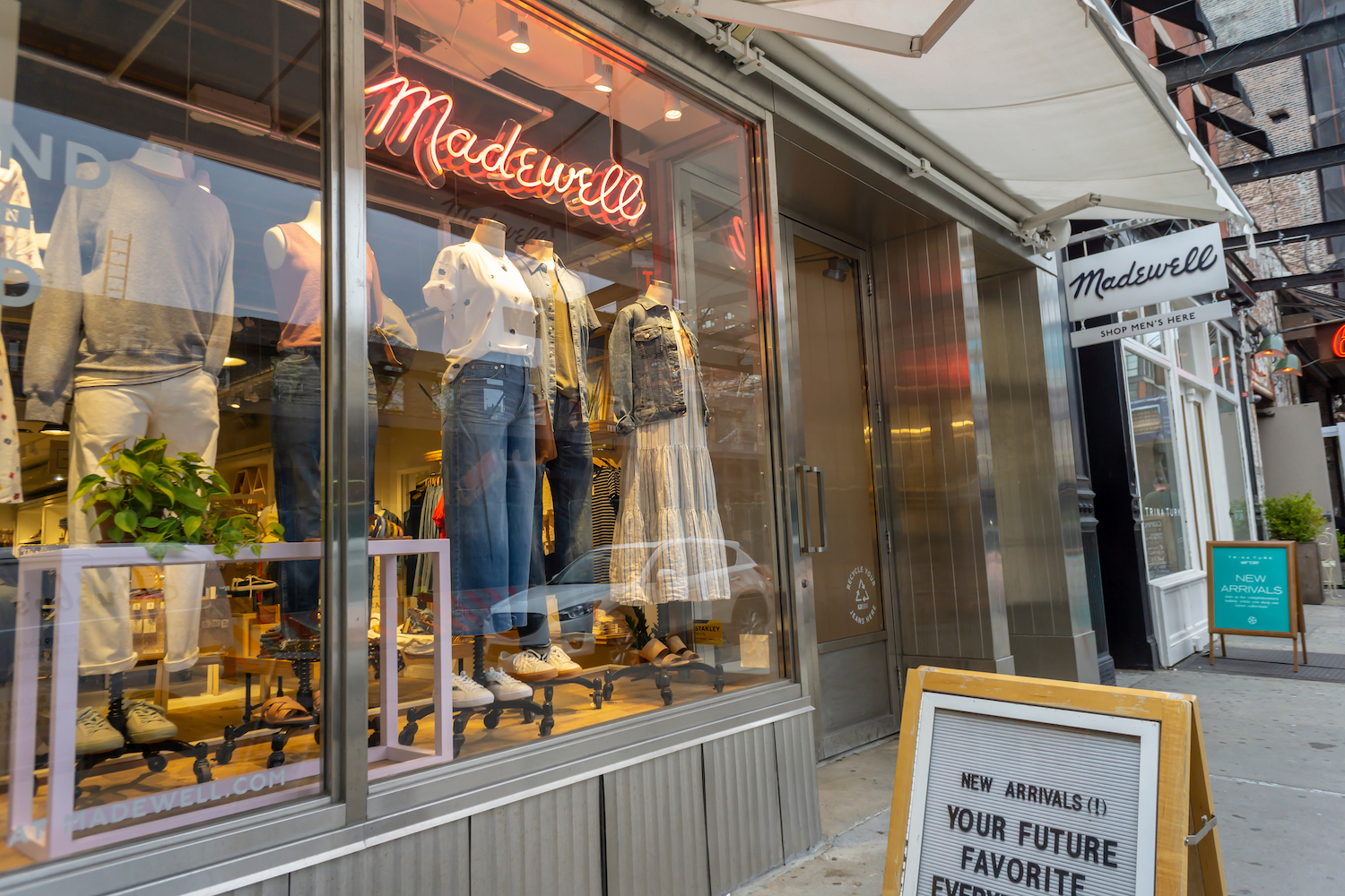 Madewell's future in denim