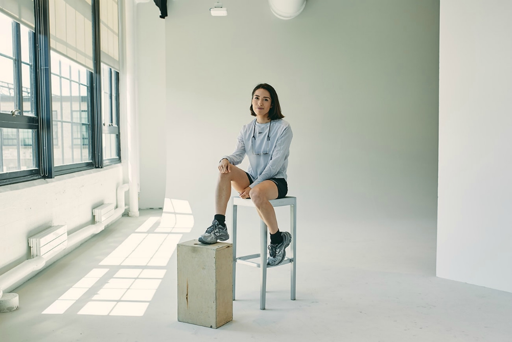 Influencer Nicole McLaughlin was a Reebok employee last year, in September she is launching her own, upcycled collection with the brand.