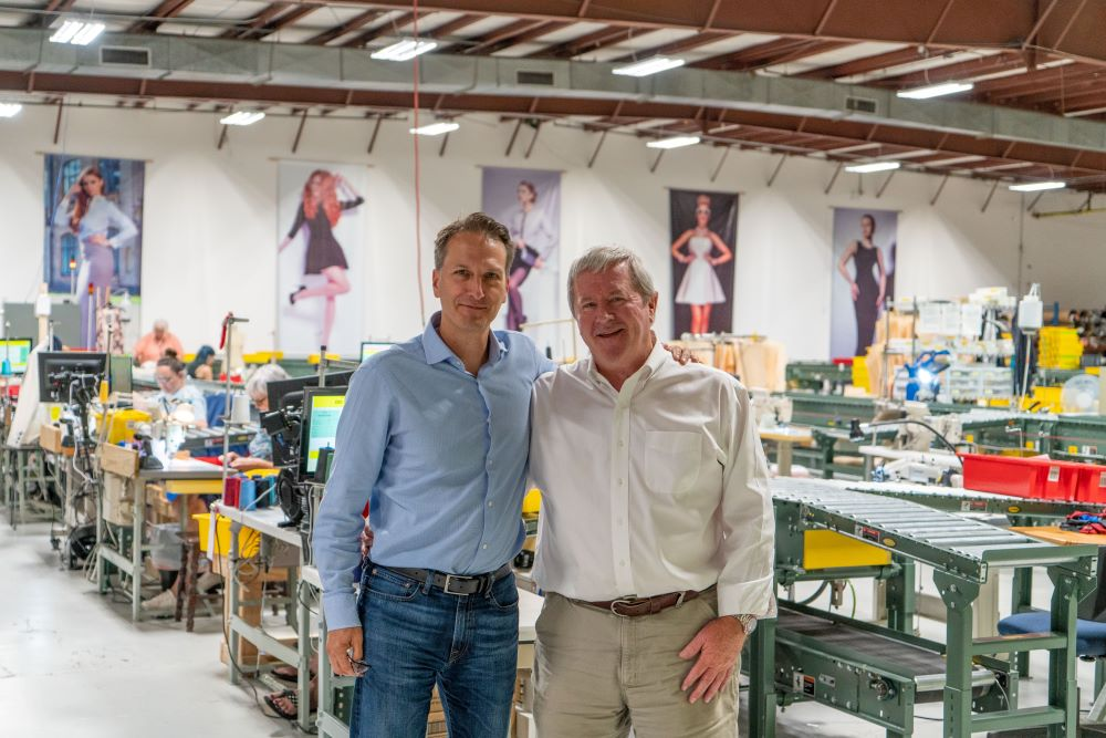 OnPoint Manufacturing and Gerber Technologies strengthened their collaboration with smarter demand-based apparel production.
