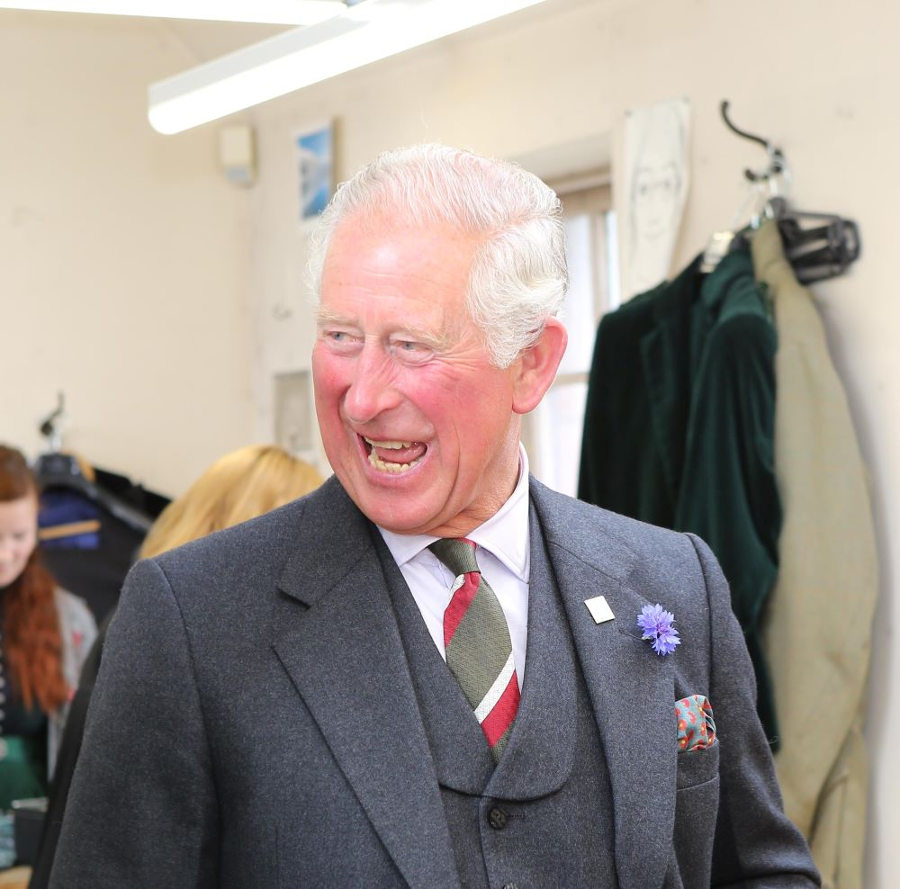 Prince Charles donated weeds from his royal estate to form part of Vin + Omi's collection