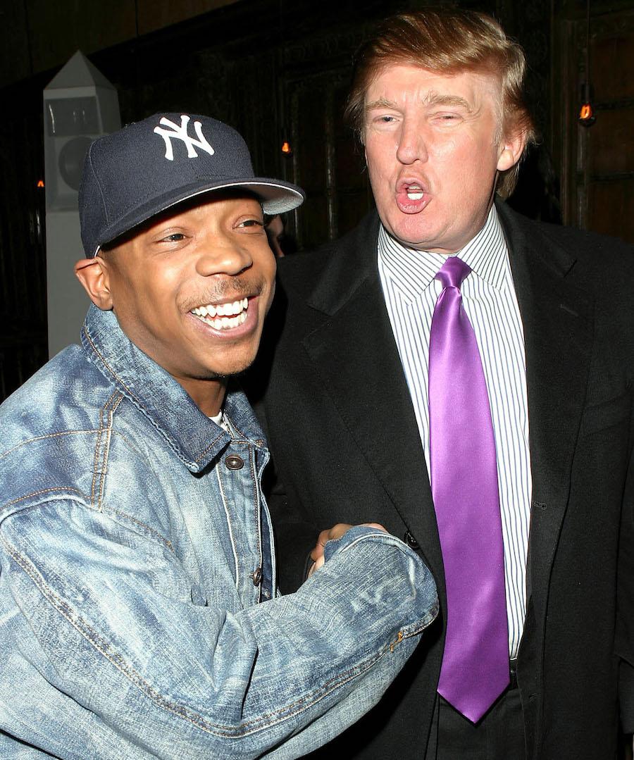 Ja Rule and Donald Trump