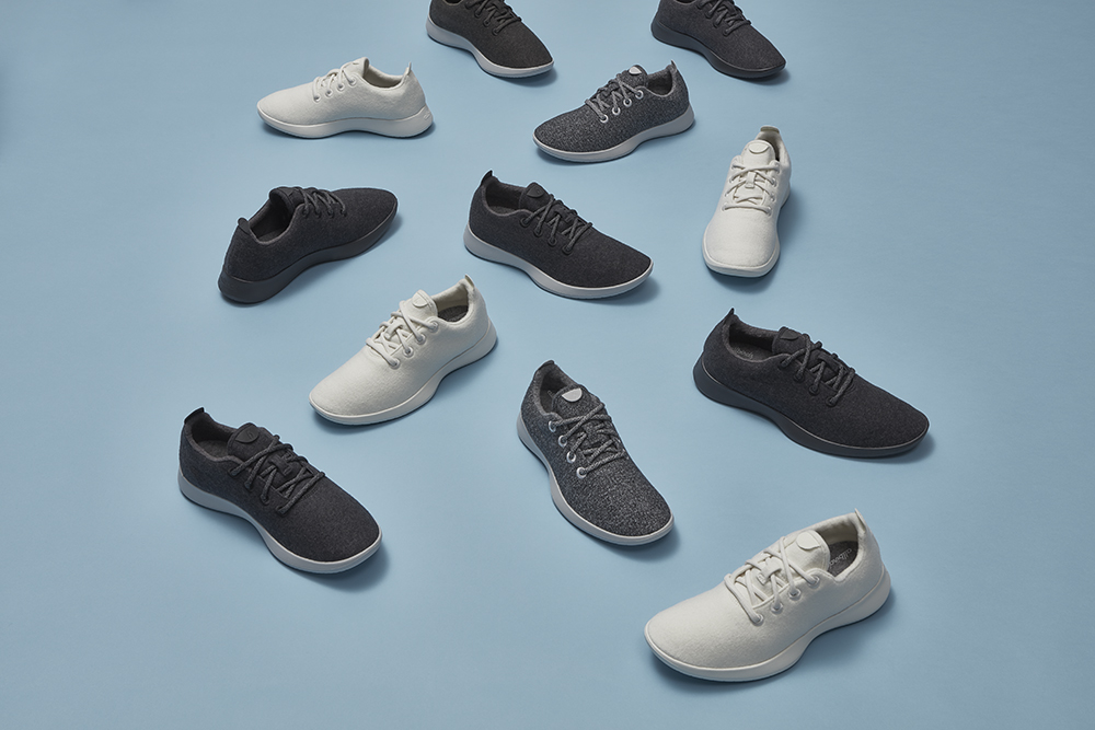 Allbirds are a popular DTC footwear brand