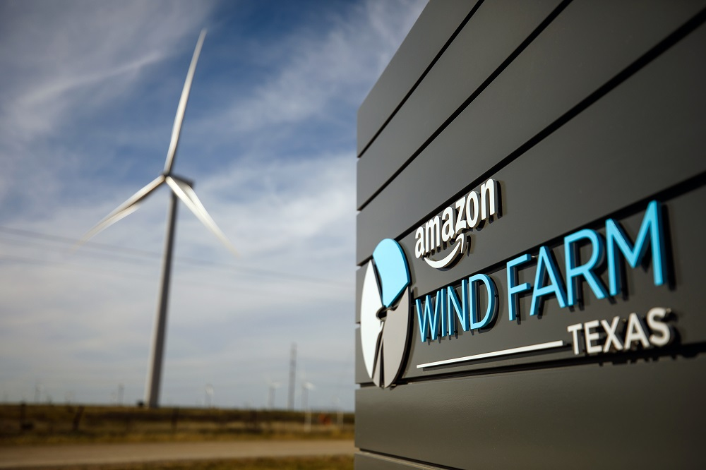 Amazon's commitment to renewable energy and The Climate Pledge was backed by a trio of fresh wind and solar investments announced Thursday.