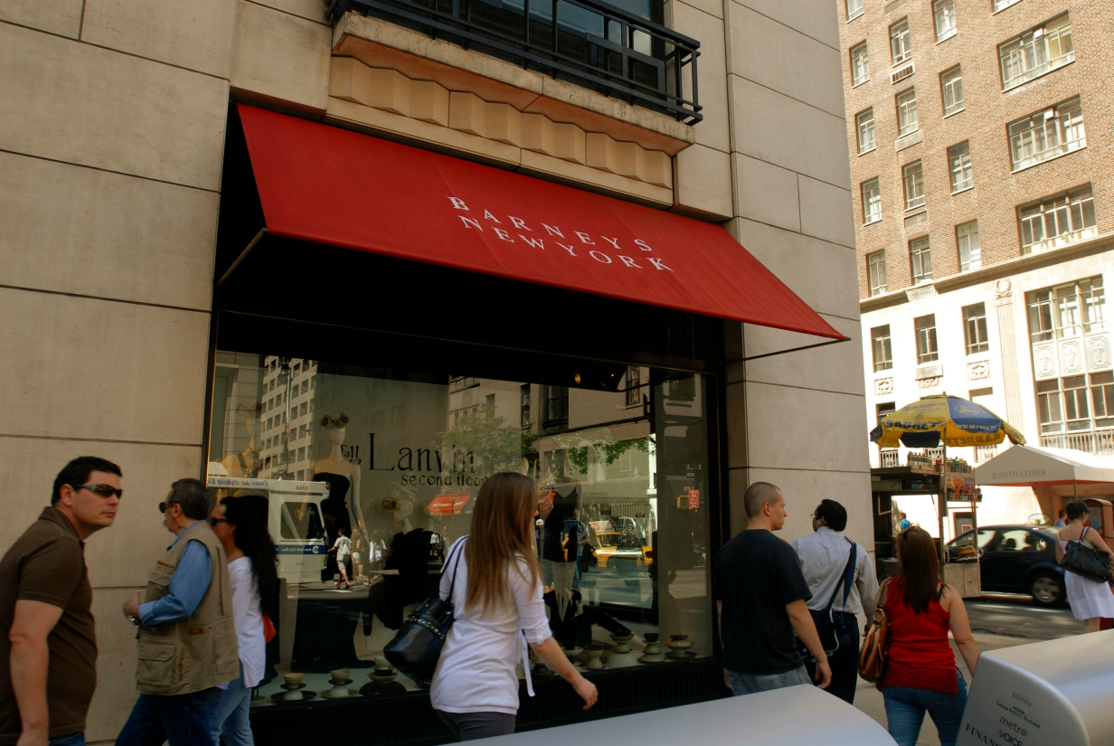 Authentic Brands is preparing a $270 million bid for Barneys, which could be reborn as shop-in-shops inside some Saks Fifth Avenue stores.