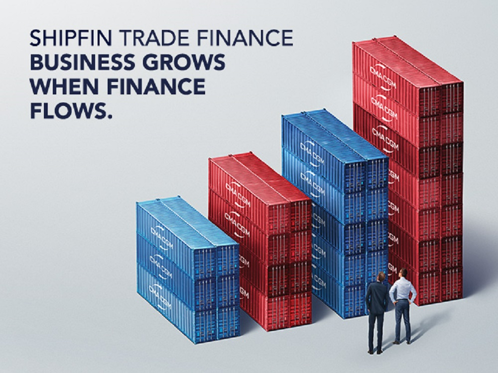 The CMA CGM Group launched Shipfin Trade Finance, a new range of financing services dedicated to importing and exporting.