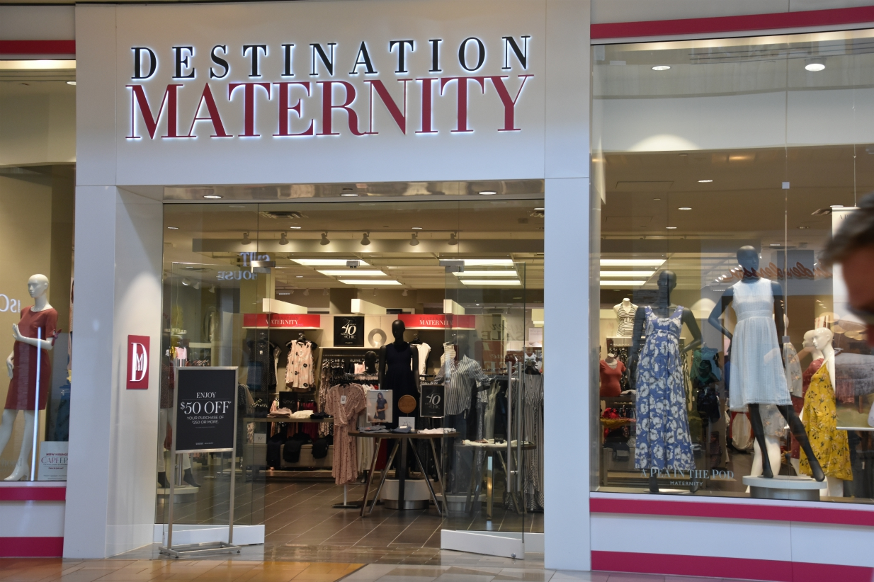 Destination Maternity Closes 183 Stores as Part of Bankruptcy Filing