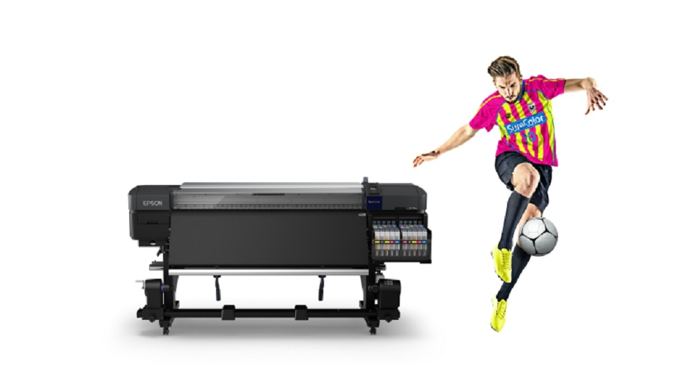 Epson America has introduced its first dye-sublimation textile printing solution with fluorescent ink to bring vivid colors to apparel.
