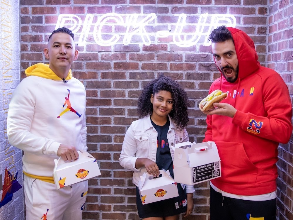 """Foot Locker's Los Angeles flagship debuted a pop-up eatery dubbed """"Rivals Café"""" to celebrate the debut of the NBA season."""