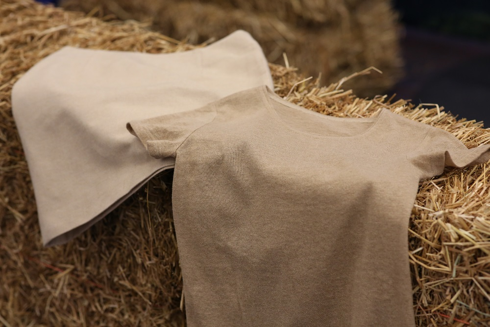 European energy company Fortum and sustainable fiber firm Spinnova have introduced the first prototype clothing made from wheat straw.