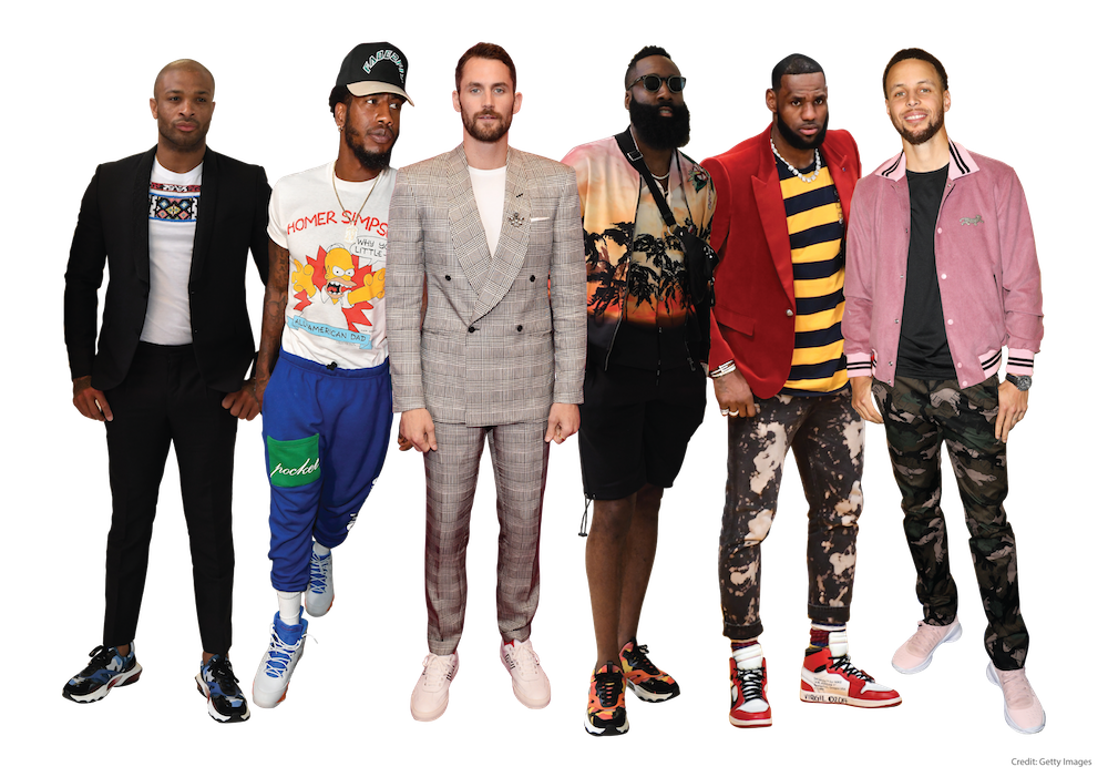 how nba style icons influenced sales and trends of sneakers at Poshmark in 2018-2019