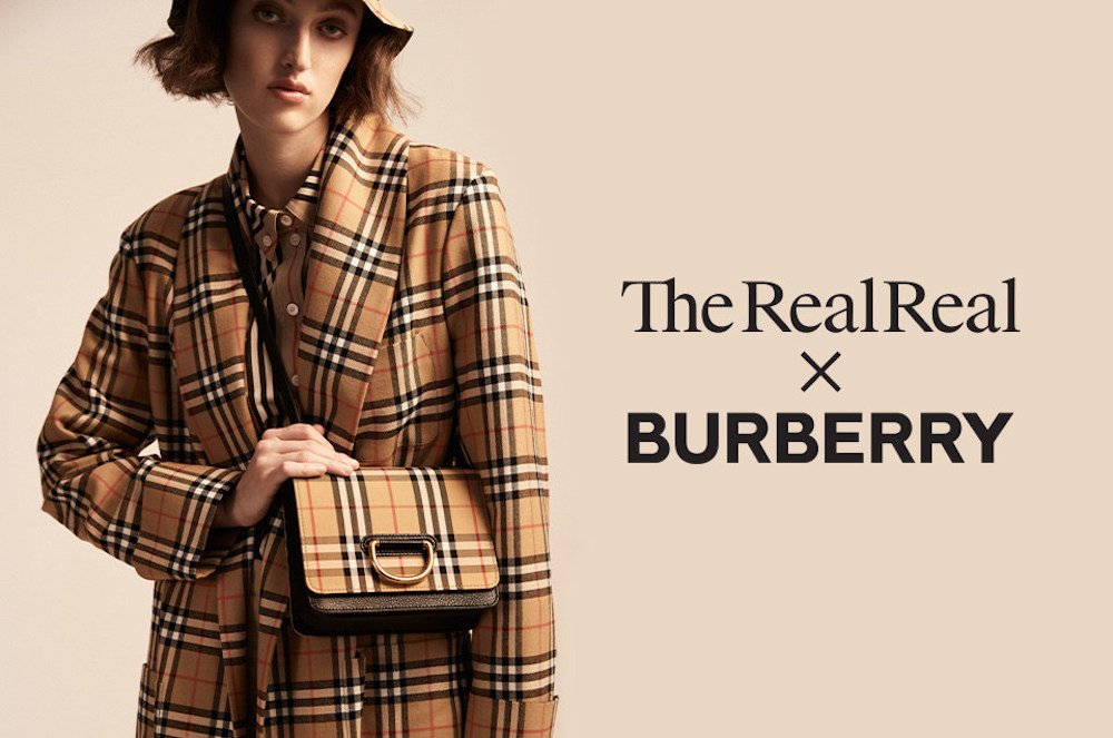 Burberry And The RealReal Join Forces To Make Fashion Circular and offer a personalized shopping experience