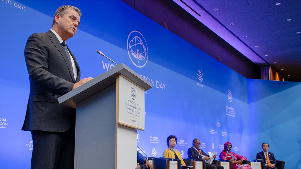 WTO director-general Roberto Azevêdo, opening World Cotton Day, noted the importance of the linkages between trade, cotton and development.